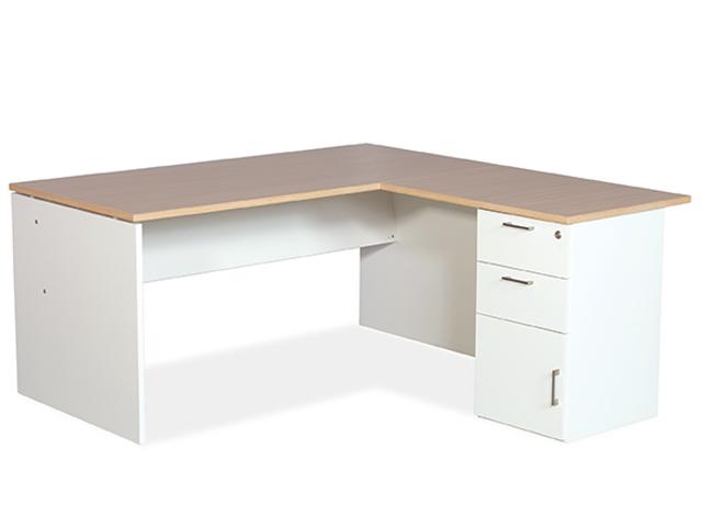 365 Desk Desk High Pedestal