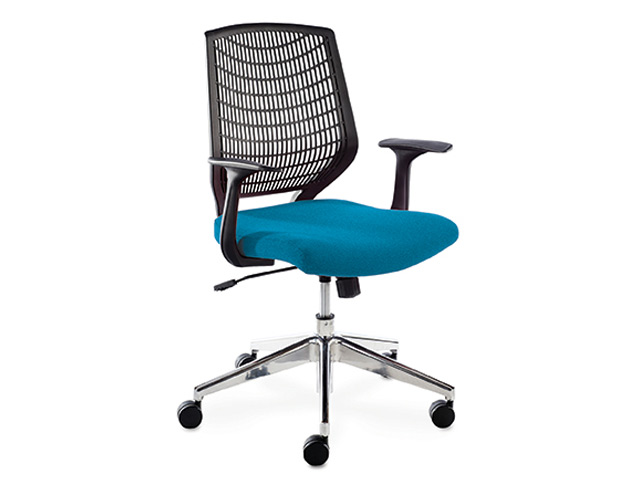 Alexis Chair Operators Chrome-Frame