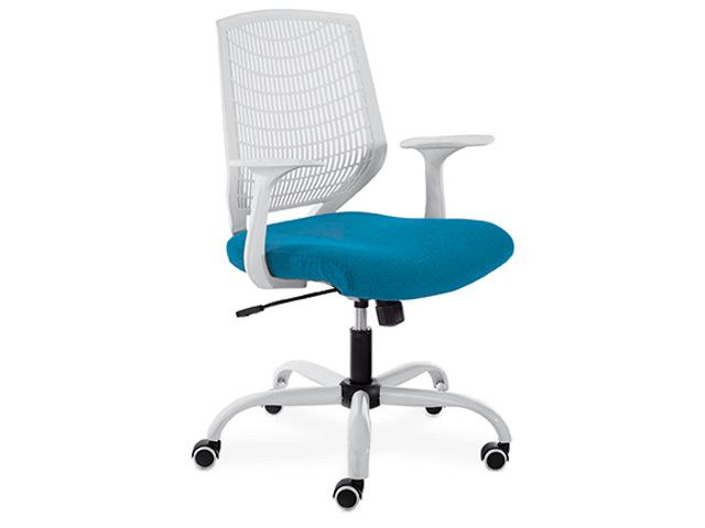 Alexis Chair Operators White Frame
