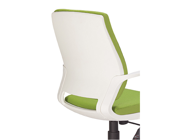 Bella Chair Operators White Frame Back
