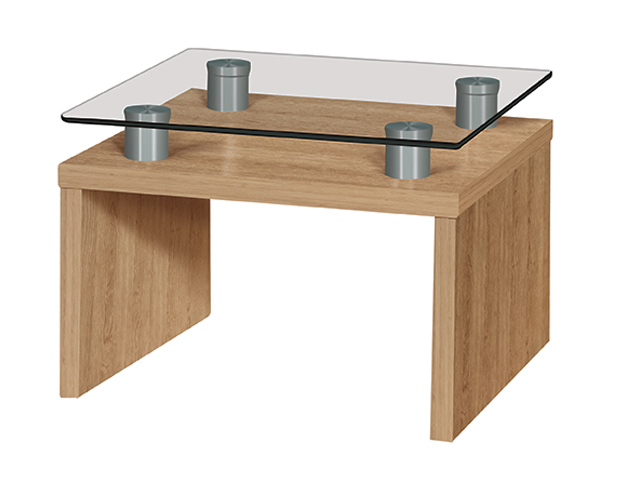Cappuccino Coffee Table Side