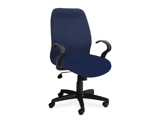 Diana Chair Mid Back-Blue