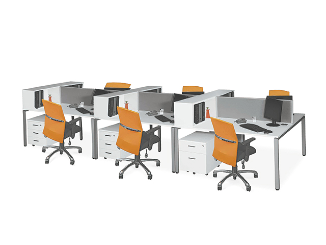 Litebeam Desk 6 Way Open Storage