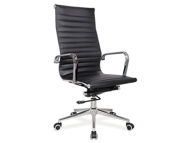 Pasquale Chair High Back Black