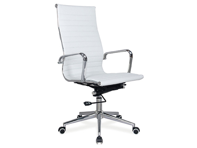 Pasquale Chair High Back White