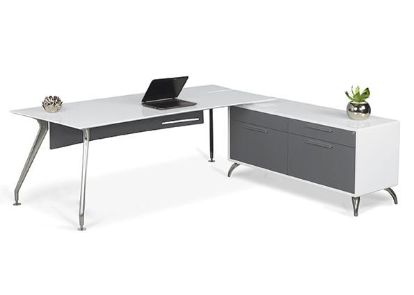 Prato desk with credenza