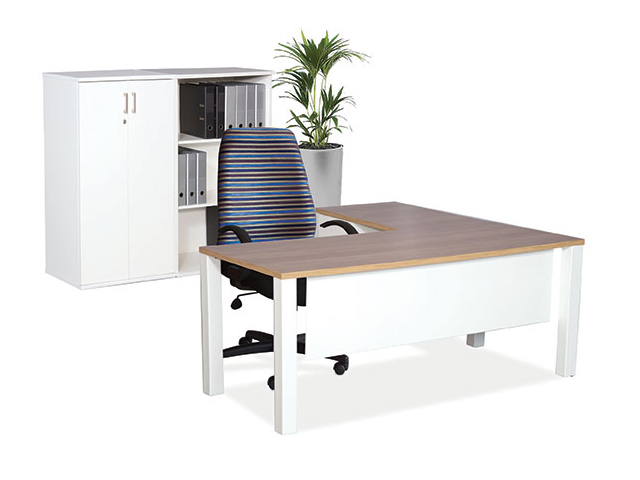 Quattro-Lite Desk Storage