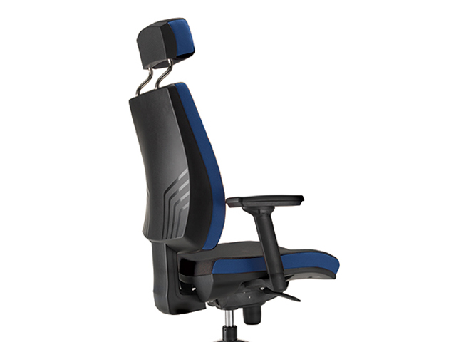 Toni Chair High Back Back Detail